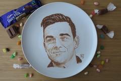 robbie williams (pedalstrike) Tags: foodart robbiewilliams candy cadbury dairy milk takethat takethecrown
