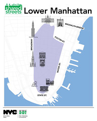 Shared Streets Lower Manhattan Map 2016 (NYCDOT) Tags: nyc lowermanhattan nycdot summerstreets sharedstreets citisummerstreets