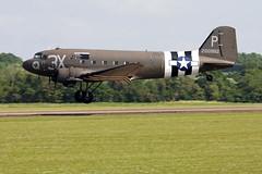 Douglas C-47A Skytrain (DC-3) N473DC / 2100882/3X-P (Andy C's Pics) Tags: duxford douglas skytrain dc3 imperialwarmuseum iwm 3xp n473dc c47a 2100882