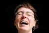 Laughing Girl (thomas druyen) Tags: nikon gesicht porträt brille lachen zähne personen hintergrund schwarzer d80
