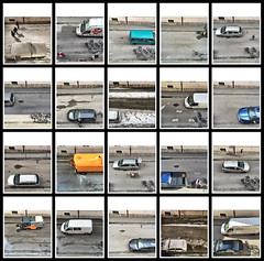 Cars #1, 2016 (Lexi Blue) Tags: auto street people color salzburg cars car colorful leute bright colored autos farbe farbig birdseyeview bunt iphone vogelperspektive 2ndfloor strase