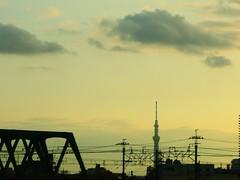 NikonP330 Twilight Afterglow Sunset Tokyo Sky Tree (tostomo) Tags: nikonp330 twilight afterglow sunset tokyoskytree