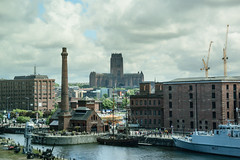 Liverpool Anglican Cathedral (MaraChimp) Tags: liverpool docks boats boat dock albert mersey merseyside scouse