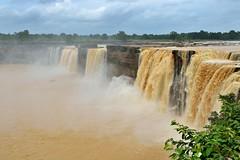 Monsoon power (Jean-Marc Vacher) Tags: chitrakote chhattisgarh waterfall monsoon jagdalpur india niagara mousson chute inde