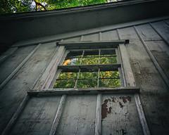 Second story (bratli) Tags: window secondstory pettysblacksmithshop ny southold northfork longisland