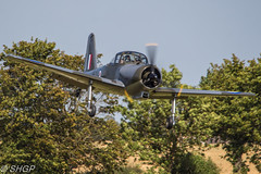 Piston Provost - Old Warden Edwardian Pageant 2016 (harrison-green) Tags: old warden shuttleworth collection air show airshow 2016 edwardian pageant aircraft aviation world war 2 two ii display shgp steven harrisongreen photography canon eos 700d sigma 150500mm 18250mm de havilland comet racer plane race grosvenor house mew gull outdoor vehicle airplane tiger 9 nine moth biplane trainer jet piston provost