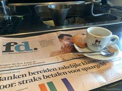 fd. & espresso (jpmm) Tags: 2016 257 amsterdam cafrestaurant bocca koekje hetfinancieeledagblad