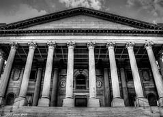 On the Statehouse Steps (that_damn_duck) Tags: southcarolinastatehouse columns steps capital