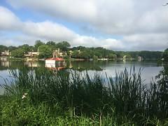 Lake Thoreau on Sunday Morning (procktheboat) Tags: lakethoreau restonvirginia restonva lakethoreauspillway art artwork