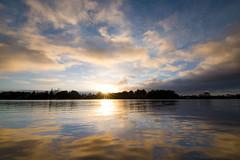Hamilton Lake Sunrise (Myreality2) Tags: dawn hamilton newzealand lake waikato sunrise cloudy