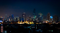 Bangkok Skyline #0421 (Explore) (svenpetersen1965) Tags: bangkok city watphrakaew downtown skyline skyscrapers temple krungthepmahanakhon thailand th