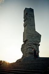 Monument to the Defenders of the Coast (d.kiero) Tags: gdask batyk wakacje lampion wadysawowo canon 5d zatoka gdaska plaa bungee