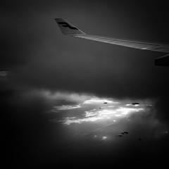 (s_inagaki) Tags: sea sky wing cloud