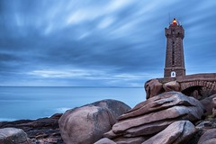 Men Ruz Lighthouse #explore (Fabien Georget (fg photographe)) Tags: menruz phare ocean mer lighthouse sea longexposure landscape paysage water sky ploumanach ayezloeil beautifulearth bigfave canoneos600d canon elitephotography elmundopormontera eos fabiengeorget fabien fgphotographe flickr flickrdepot flickrunited georget geotagged flickunited longue mordudephoto nature paysages perfectphotograph perfectpictures wondersofnature wonders supershot supershotaward theworldthroughmyeyes shot poselongue photography photo greatphotographer french monument perrosguirec bluehour bretagne britanny granit seascape rocks sunset slowshutter heurebleue