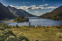 Loch Shiel (Geordie1970) Tags: lochshiel glenfinnan scotlandscountryside scottishhighlands scottishlandscape monument lochaber hdr nikon nikond7100 nikon1685mm geordie1970