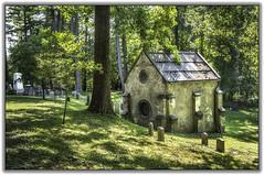 crypt (jsleighton) Tags: crypt graveyard gravestone tree grass cementary