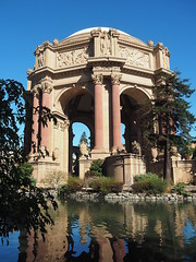 San Francisco 2016 (hunbille) Tags: usa america sanfrancisco san francisco california palace fine arts palaceoffinearts reflection