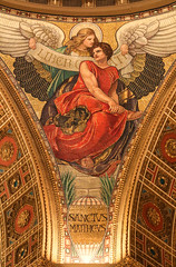 St Matthew the Evangelist (Lawrence OP) Tags: stmatthew cathedral washingtondc angel gospel evangelist mosaic