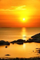 Dance of dawn (Mario Ottaviani Photography) Tags: sony sonyalpha sea seascape dawn alba italy italia paesaggio landscape travel adventure nature scenic exploration view vista breathtaking tranquil tranquility serene serenity calm walking dance sole mare longexposure