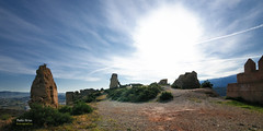 (350/16) Castillo de Tabernas (Pablo Arias) Tags: pabloarias photoshop nxd cielo nubes texturas arquitectura castillo ruinas tabernas almera comunidaddeandaluca
