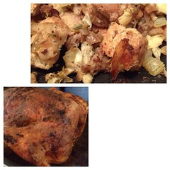 """The favorites from our Thanksgiving feast were the heritage breed turkey from White Gate Farm and Cast Iron Skillet Dressing.  They were just as delicious as leftovers tonight as they were at our family table yesterday.  What was your favorite dish from y • <a style=""""font-size:0.8em;"""" href=""""http://www.flickr.com/photos/54958436@N05/15279518604/"""" target=""""_blank"""">View on Flickr</a>"""