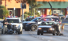 Decatur Standoff (Srontgorrth) Tags: usa news lasvegas united nevada assignment photojournalism police spot nv law states enforcement breaking