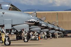 Fairchild Republic A-10C Thunderbolt II (Norman Graf) Tags: plane airplane aircraft jet usaf cas warthog a10 davismonthanafb thunderboltii sharkmouth fairchildrepublic closeairsupport militaryexercise a10c hawgsmoke2014
