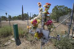 Miguel Torres (z0m3ie) Tags: california flowers miguel canon death highway memorial riverside you rip crosses muerte empire ghosts roadside inland torres