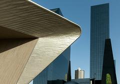 Bald curves & lines (dorrisd) Tags: city blue sky urban