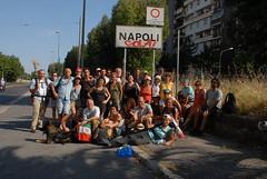 L'arrivo a Napoli