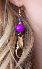 Glimpse of Malibu Purple Earrings K2 P5420-5