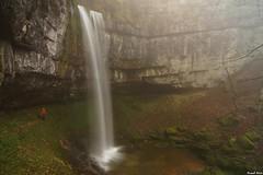 Guy et la Cascade Amont de 22M de Pissevieille - Longchaumois (Jura) (francky25) Tags: guy de la jura et cascade franchecomté 22m amont longchaumois pissevieille