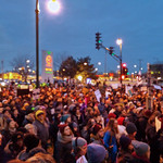 Rally for Michael Brown in response to the Furguson grand jury decision thumbnail