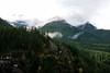 View from Diablo Dam (YuriZhuck) Tags: autumn usa cloud mountain snow color colour fall nature landscape us washington unitedstates cascades wa diablo northcascades