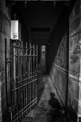 Inviting? (Colin Myers Photography) Tags: old colin dark photography scotland town gate edinburgh moody close scottish atmospheric myers oldtownedinburgh edinburghclose edinburghphotography colinmyersphotography