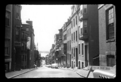 ms1950s AA-50 (ndpa / s. lundeen, archivist) Tags: city houses blackandwhite bw cars film monochrome boston architecture buildings river blackwhite apartments massachusetts charlesriver nick slide sidewalk 1950s 1958 1957 parkedcars beaconhill 1959 barricade louisburgsquare apartmentbuildings dewolf policebarricade pinckneystreet late1950s nickdewolf photographbynickdewolf