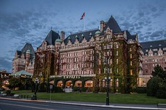 The Empress Hotel (Yasmin Simpson) Tags: travel autumn canada fall landscape bc victoria yasmin theempresshotel yasminsimpson