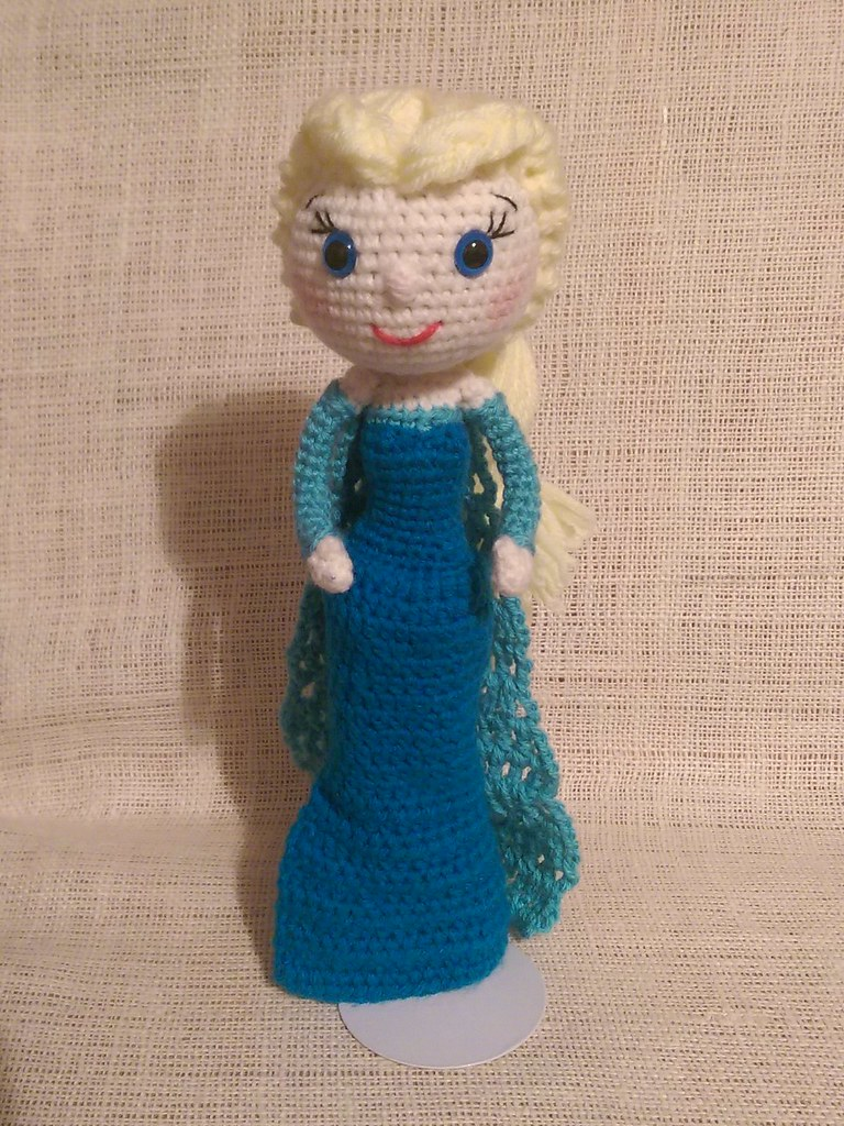 Amigurumi Elsa Doll : The Worlds most recently posted photos of amigurumi and ...