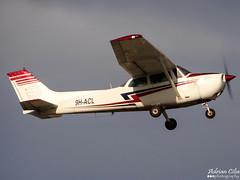 Malta School of Flying --- Cessna 172M Skyhawk --- 9H-ACL (Drinu C) Tags: plane aircraft sony skyhawk dsc cessna mla 172m lmml 9hacl maltaschoolofflying hx100v adrianciliaphotography