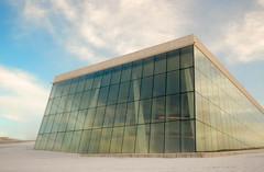 Oslo Opera House (bertie.carter.photography) Tags: light snow glass oslo metal modern opera shapes rectangular 2014