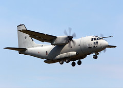 C27 Spartan (Bernie Condon) Tags: italy tattoo plane flying italian display aircraft aviation military transport cargo airshow spartan ffd fairford airlift 2014 riat tactical airtattoo c27 riat14