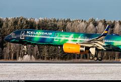 TF-FIU Boeing 757-256(WL) Icelandair (Andreas Eriksson - VstPic) Tags: from new boeing keflavik northern the icelandair tffiu 757256wl iceair306 lightslivery