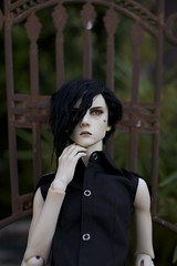 Haiden (zoziebrown) Tags: saint ball doll demon bjd 13 joint jointed haiden dollshe