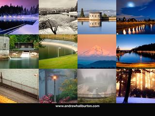 Mount Tabor Park 2015 Calendar Back Cover Andrew Haliburton Photographer
