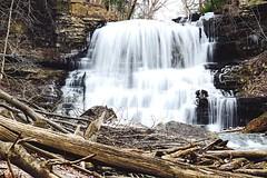 Decew Falls - Thorald ON (mitchell.sager) Tags: ontario ice nature explore waterfalls decew explorecanada exploreontario decewfallsmorningstarmill