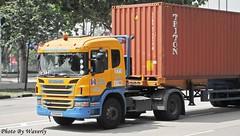 Scania P380 (Waverly Fan) Tags: port truck gateway psa scania inter haulage huationg