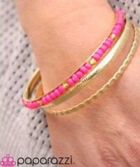 Sunset Sightings Yellow Bracelet K1 P9620A-4