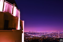 DSC_0916 (2) (Christian Duran) Tags: california city longexposure cali lights la losangeles nikon downtown bokeh perspective observatory socal nightlife griffith dtla