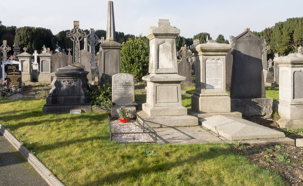 Glasnevin Cemetery, officially known as Prospect Cemetery REF-101129