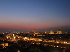 Florence at Dusk (jleathers) Tags: